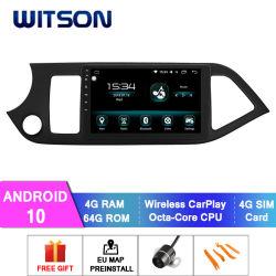 Witson Android 10 auto-dvd-speler voor KIA 2014 Morning/Picanto 4 GB RAM 64 GB Flash Groot scherm in auto DVD-speler