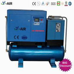 أفضل سعر 30% توفير الطاقة 5.5kw-22kw 8-16bar Industrial Portable Direct ضاغط هواء ألماني من النوع الملولب الدوار المُدار من أجل الليزر ماكينة قطع