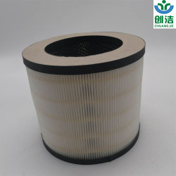 De aangepaste Filter van de Vorm H12 HEPA met De Kern van Purifer van de Lucht van het Carbonpapier