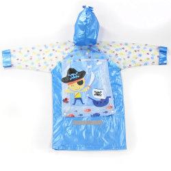Les enfants veste en plastique Sac d'école Sac Raincoatschool manteau de pluie et le parapluie défini