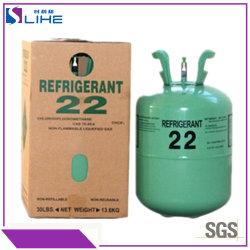 13.6kg/22,7 kg de gros de l'usine du réservoir de fluide réfrigérant R22 gaz fréon