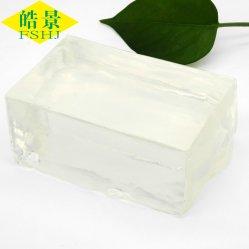 Adhesivo de posicionamiento de adhesivo termofusible para productos higiénicos