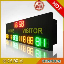 مقطع LED 7 عرض لكرة السلة لوحة تسجيل الأهداف