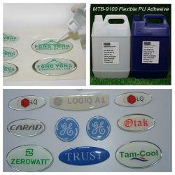 Resistencia UV PU adhesivo de poliuretano resina para la etiqueta