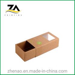 Boîte de tiroir de papier kraft de gros bonbons/thé/Cookie Boîte de papier de l'emballage