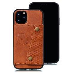 2 In1 Geldbörse Leder Handy-Back-Case für iPhone 12 und für iPhone 12 pro