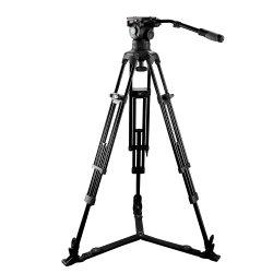 E-Bild Videokamera-Stativ mit flüssigem Hauptinstallationssatz der Kostenbelastungs-12kg (EI7083A2)