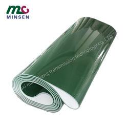 Factory China Hot sale nastro trasportatore in PVC verde di alta qualità