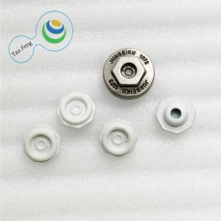 11.5/8.5mm hexagonal simples liga Vintage rebite metálico para acessórios de vestuário