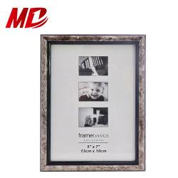 13*18 cm marbling texture met zwarte fotolijstweergave Fotoframe