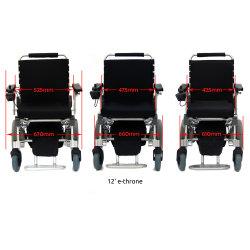 E-Thron! Kundengerechte Breiten-Längen-Höhen-super helle elektrische faltende Mobilität unterstützt Roller motorisierten elektrischen Rollstuhl