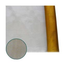 100 Fios de ouro de revestimento retardante de fogo de tela metálica de tecido de malha de arame de intertravamento para calçado