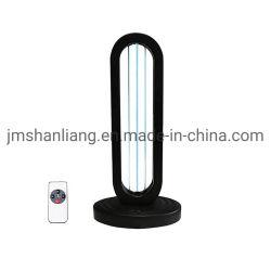 熱い販売の紫外水晶紫外線殺菌軽いリモート・コントロールタイマーの卓上スタンドの消毒の空気オゾン及び自由なUVCライト
