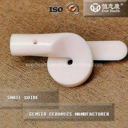 Guia de caracol de cerâmica de alumina ISO9001