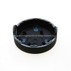 Kundenspezifisches flüssiges Silikon-Gummi Overmolded Metallplastikaluminium zerteilt Produkte