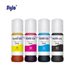 Stylo Botella Tinta T544 совместимых чернил подходит для Epson Eco бак L1110 L3110 L3150 L5190 принтер