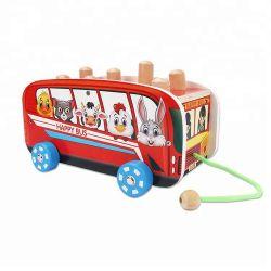 DIY Mini baratos coches de madera para niños de diferentes colores