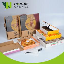 Milieuvriendelijke biologisch afbreekbare 3-laagen gegolfde Pizza Box op maat