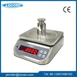 LED display electrónico de acero inoxidable resistente al agua IP68 Báscula de mesa de escritorio