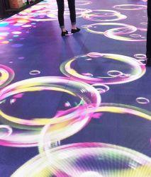 Новый продукт P6.25 интерактивный сенсорный экран с подсветкой LED Видео дисплей мозаики пола