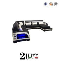Mobilier multifonctionnel canapé de coupe supérieure définie avec LED