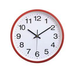 ساعة الكوارتز ساعة بلاستيكية لحائط الحائط ساعة جد للديكور المنزلي الساعة