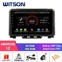 Witson Android 10 DVD de l'autoradio GPS pour Suzuki Jimny 2019 construit en 2 Go de RAM 16 Go de mémoire Flash lecteur de DVD de voiture