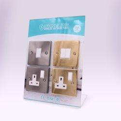Connettore femmina per interruttore a parete standard BS per interruttore di illuminazione elettrica Shinelite