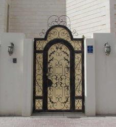 Cancello d'acciaio dell'entrata principale di alta qualità decorativa del Medio Oriente