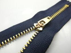 Bronze Dourado Vislon Metal Jeans Plástico Vestuário impermeável invisível Zipper (3# BZ80132)