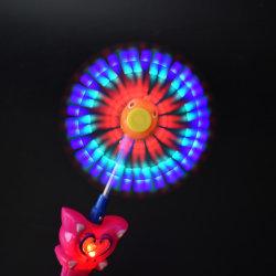 LED moulin à vent de poissons Wand Baguette magique moulin à vent Toy
