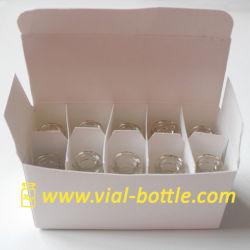 Caixa em branco com divisor para 10 unidades 2ml/3ml Vial HGH ou outra utilização