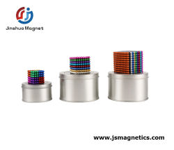 Magnet Block for Intellectual Development and Stress Relief Sculpture Toys، مثالي لعيد ميلاد الهدايا والتعليم المنزلي بالمدرسة (216PC 5mm) (8 ألوان)