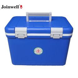 Boîte à glace portable en plastique de 12L pour l'industrie médicale