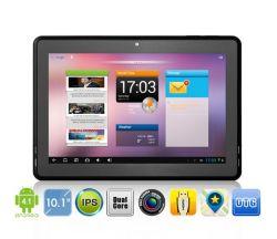 10.1인치 Pipo M3 Android 4.1 태블릿 IPS 스크린 Rk3066 듀얼 코어 1.6GHz 듀얼 카메라 5MP WiFi HDMI 부스