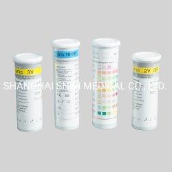 1단계 진단 10 파라미터 의료 소변 분석 검사 시약 스트립