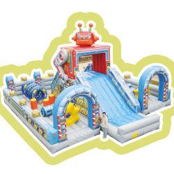 아이들을 위한 놀이공원 로봇 테마
