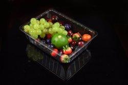 Le conditionnement sous blister boîtier en plastique transparent des récipients alimentaires pour le bleuet Cherry Fraise Kiwi