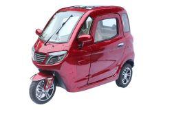 الحد الأقصى 40 كم/ساعة 3 سيارة ميني ثلاثية العجلات مغلقة مع عجلات الراديو