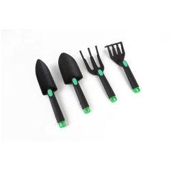 4PCS / مجموعة أدوات التجميلية الصغيرة أدوات التجشفي الملعقة ذات المجراف شوكة المشط للأطفال من أدوات طهو الزهور من Bonsai مجموعة أدوات الحديقة Essg12064