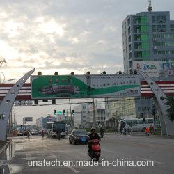 Крупные строительные внешний мост установлен реклама подвижной алюминиевый треугольник с единичным параметром Prisma