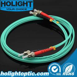 Оптическое волокно St St Дуплексный оптический кабель LSZH OM3 3,0 мм