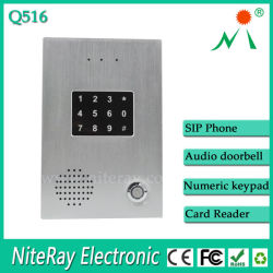 Porta aperta del telefono delle cellule di sostegno del telefono del portello della parte interna del relè audio