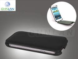2014 Nouveaux produits tendance élégant étui en cuir de presse à chaud pour Samsung Galaxy S3 I9300 Flip Housse en cuir haut et bas le couvercle