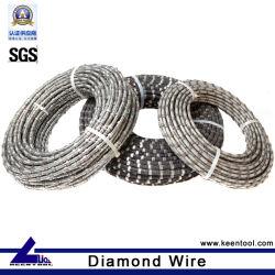 11,5мм алмазные пилы веревки для гранитных каменоломнях