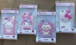 Heiße verkaufenmelodie/hallo Miezekatze-Silikon-Telefon-Kasten für iPhone 4/5 und Samsung 7100 (note2) 9500 (s4)