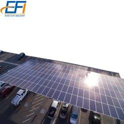 Крепежная система парковки солнечной энергии солнечных фотоэлектрических Carport структуры солнечной системы для автомобильного парка