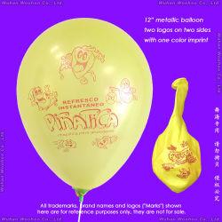 Impresión en color inflables mesas Pearlized Globo para publicidad