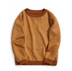 ホットセール Vintage プルオーバークルーネックデザインマンスウェットシャツ