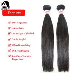Angelbella Verkaufsschlager-rohes unverarbeitetes Silk gerades Haar-Häutchen ausgerichtetes Haar von Indien